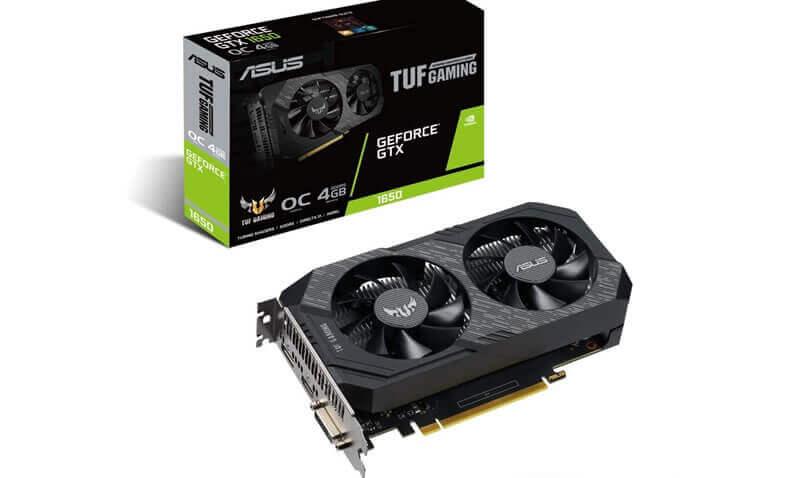 ASUS TUF Gaming GeForce GTX 1650 OC Edition